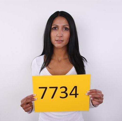 Ivana - `7734` - for CZECHCASTING
