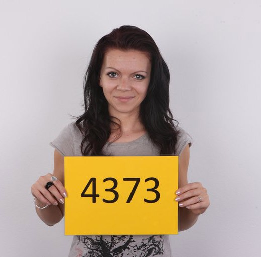 Monika - `4373` - for CZECHCASTING