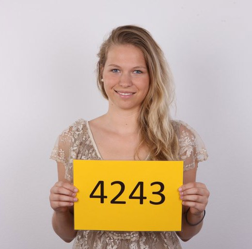 Anna - `4243` - for CZECHCASTING
