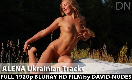 Alena - `Ukrainian Tracks` - by David Weisenbarger for DAVID-NUDES