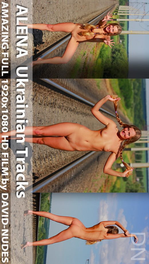 Alena - `Ukrainian Tracks` - by David Weisenbarger for DAVID-NUDES