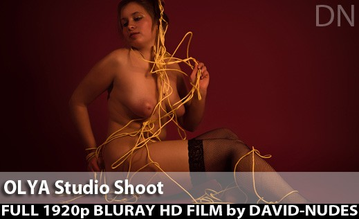 Olya - `Studio Shoot` - by David Weisenbarger for DAVID-NUDES