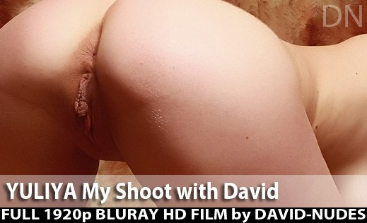 Yuliya - `My Shoot With David` - by David Weisenbarger for DAVID-NUDES