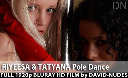 Riyeesa & Tatyana - `Pole Dance` - by David Weisenbarger for DAVID-NUDES