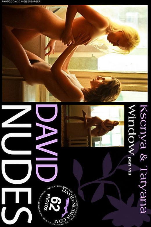 Ksenya & Tatyana - `Window part VIII` - by David Weisenbarger for DAVID-NUDES