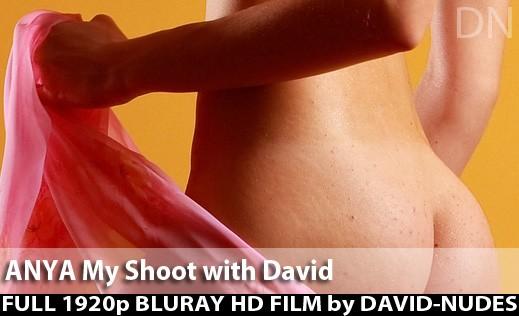 Anya - `My Shoot With David` - by David Weisenbarger for DAVID-NUDES