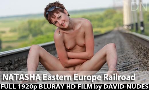 Natasha - `Eastern Europe Railroad` - by David Weisenbarger for DAVID-NUDES