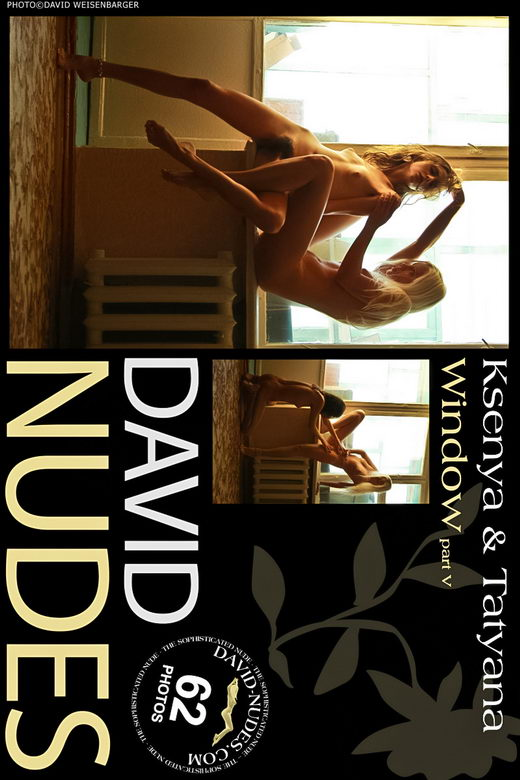 Ksenya & Tatyana - `Window part 5` - by David Weisenbarger for DAVID-NUDES