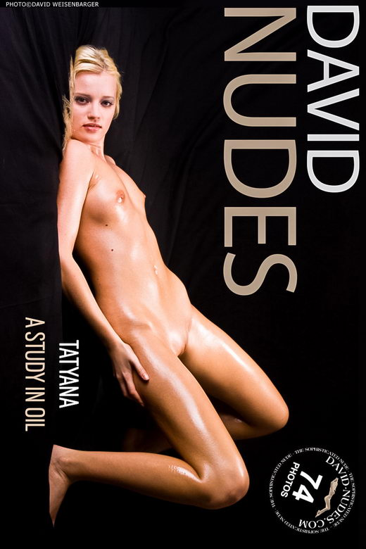 Tatyana - `A Study In Oil` - by David Weisenbarger for DAVID-NUDES