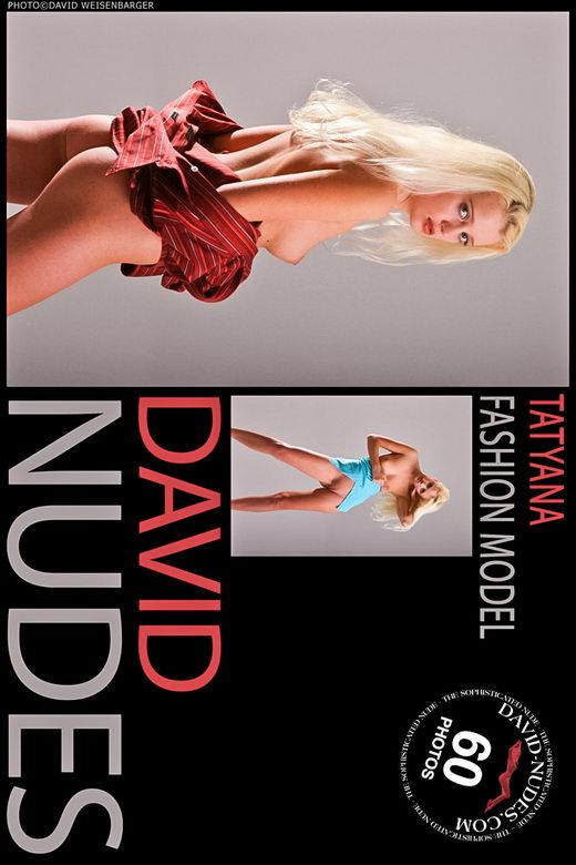 Tatyana - `Fashion Model 1` - by David Weisenbarger for DAVID-NUDES