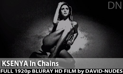 Ksenya - `In Chains` - by David Weisenbarger for DAVID-NUDES