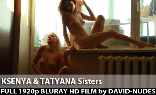 Ksenya & Tatyana - `Sisters` - by David Weisenbarger for DAVID-NUDES