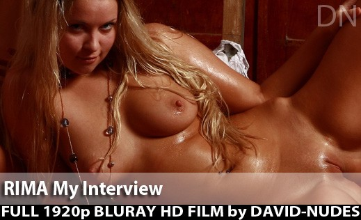 Rima - `My Interview` - by David Weisenbarger for DAVID-NUDES