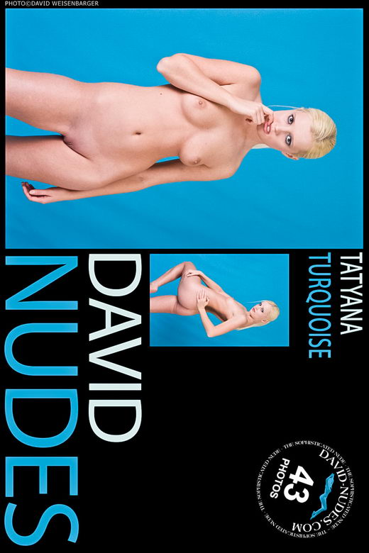 Tatyana - `Turquoise` - by David Weisenbarger for DAVID-NUDES