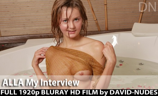 Alla - `My Interview` - by David Weisenbarger for DAVID-NUDES