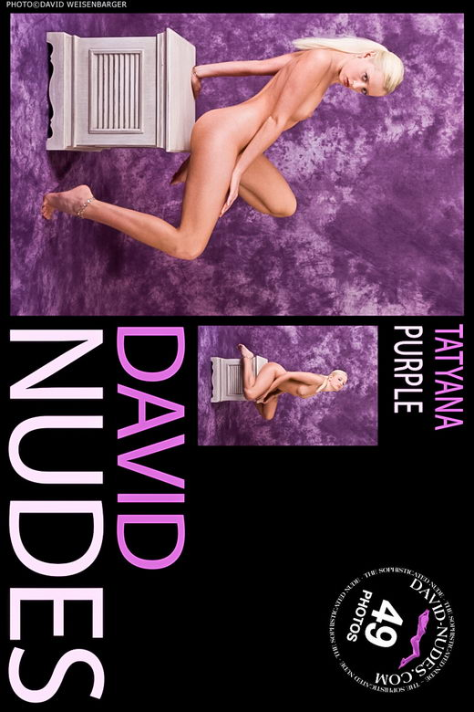 Tatyana - `Purple` - by David Weisenbarger for DAVID-NUDES