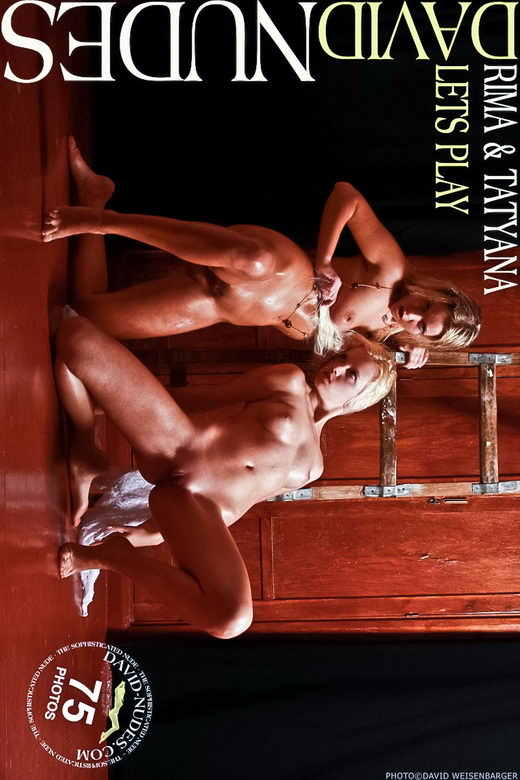 Rima & Tatyana - `Lets Play` - by David Weisenbarger for DAVID-NUDES
