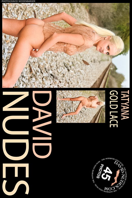Tatyana - `Gold Lace` - by David Weisenbarger for DAVID-NUDES