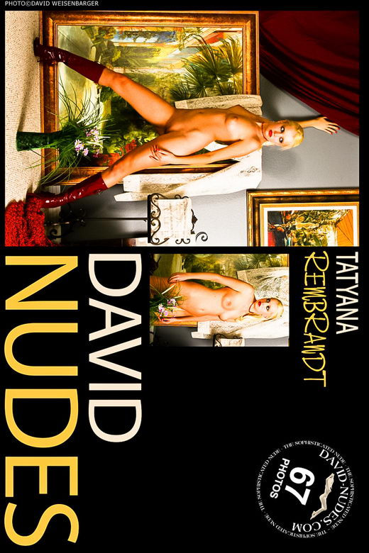 Tatyana - `Rembrandt` - by David Weisenbarger for DAVID-NUDES