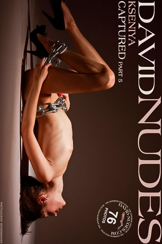 Kseniya - `Captured part 5` - by David Weisenbarger for DAVID-NUDES
