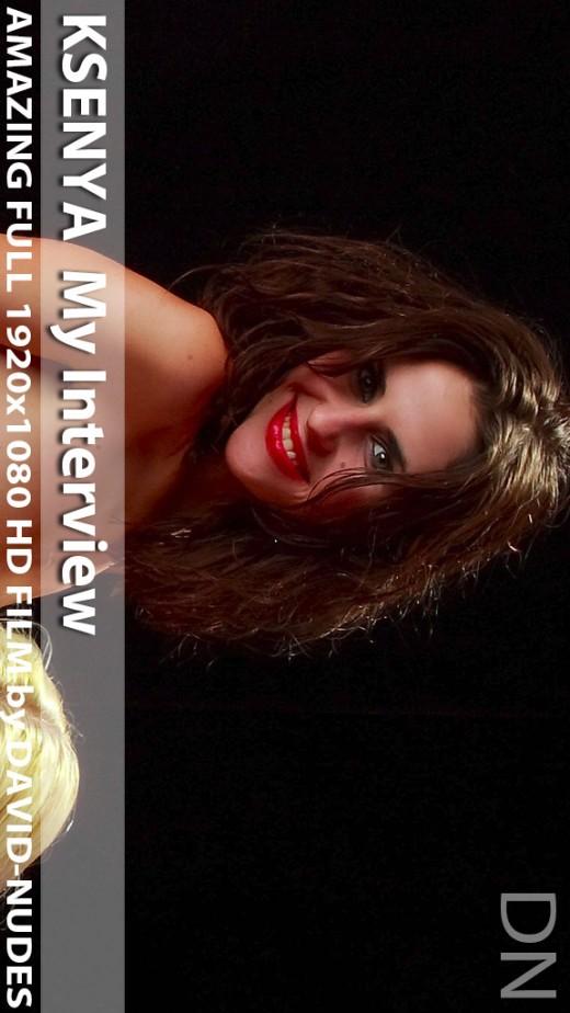 Ksenya - `My Interview` - by David Weisenbarger for DAVID-NUDES