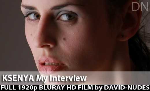 Ksenya - `My Interview` - by David Weisenbarger for DAVID-NUDES