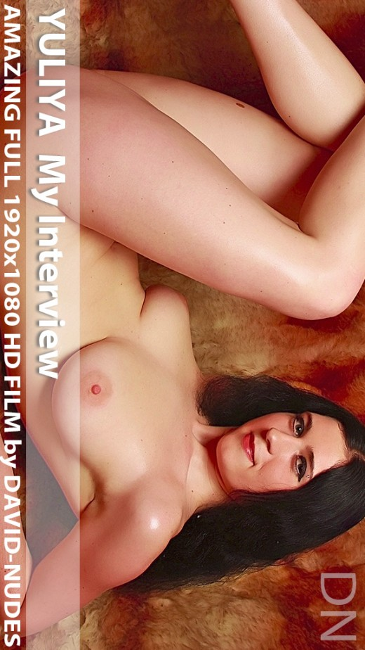 Yuliya - `My Interview` - by David Weisenbarger for DAVID-NUDES