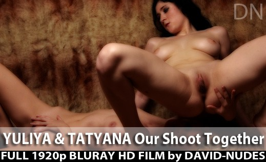 Tatyana & Yuliya - `Our Shoot Together` - by David Weisenbarger for DAVID-NUDES
