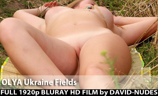 Olya - `Ukraine Fields` - by David Weisenbarger for DAVID-NUDES