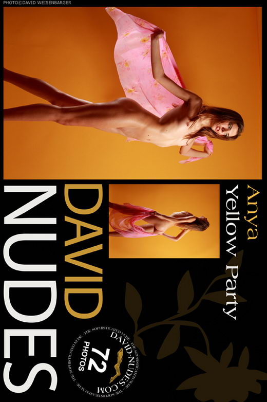 Anya - `Yellow Party` - by David Weisenbarger for DAVID-NUDES