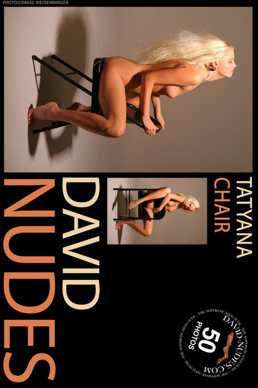 Tatyana - `Chair` - by David Weisenbarger for DAVID-NUDES