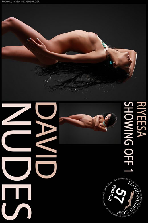 Riyeesa - `Showing Off 1` - by David Weisenbarger for DAVID-NUDES