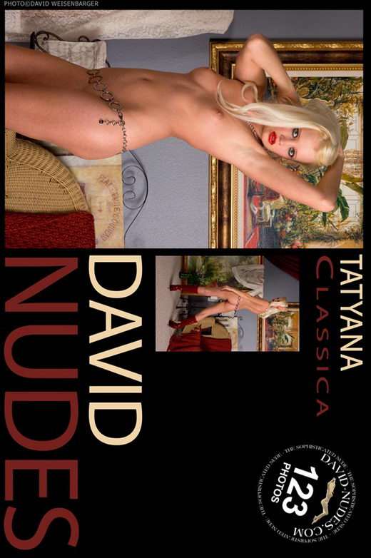 Tatyana - `Classica` - by David Weisenbarger for DAVID-NUDES