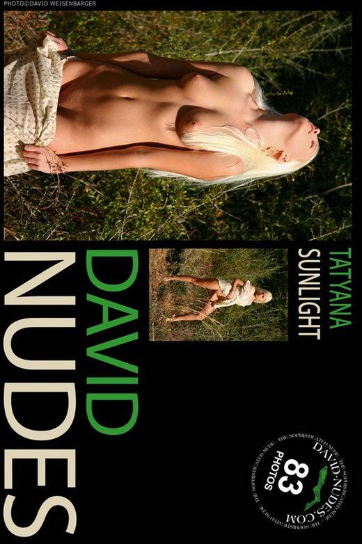 Tatyana - `Sunlight` - by David Weisenbarger for DAVID-NUDES