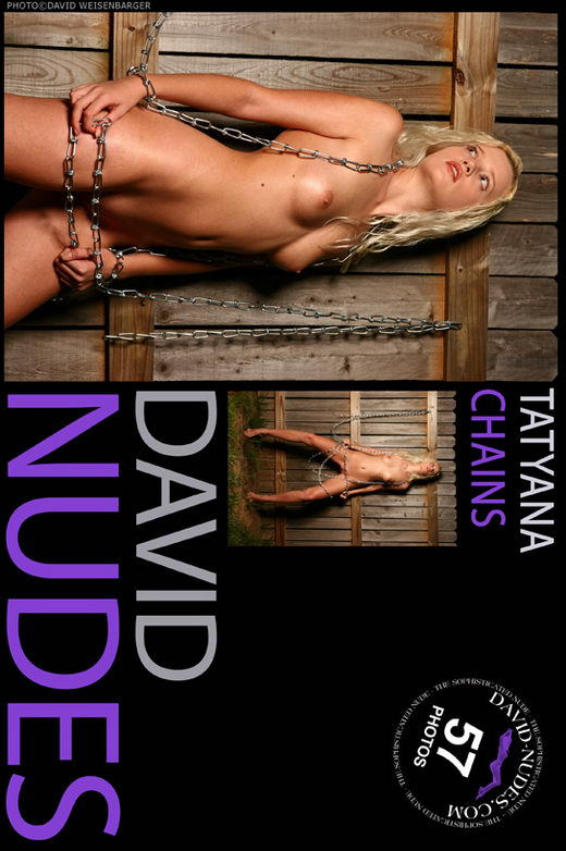 Tatyana - `Chains` - by David Weisenbarger for DAVID-NUDES