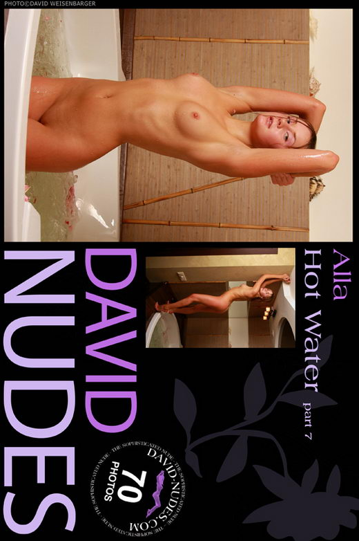 Alla - `Hot Water part 7` - by David Weisenbarger for DAVID-NUDES