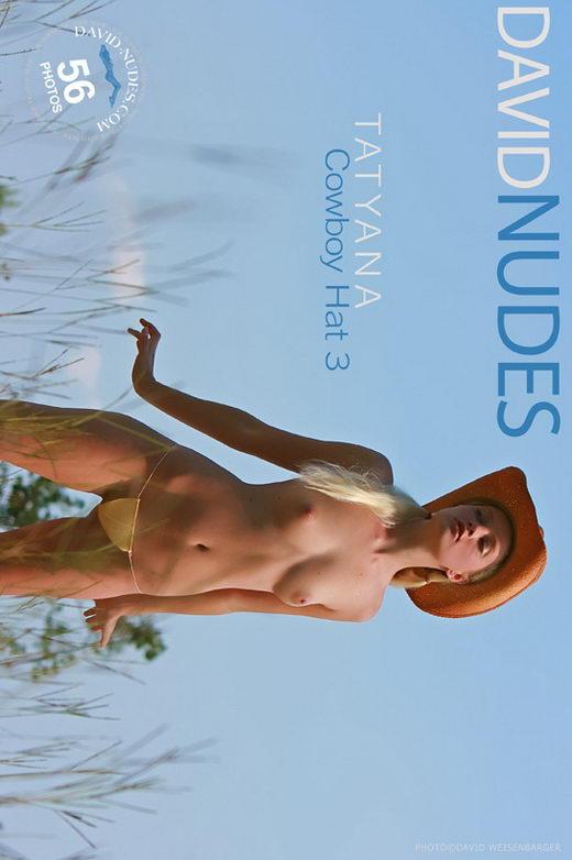 Tatyana - `Cowboy Hat 3` - by David Weisenbarger for DAVID-NUDES