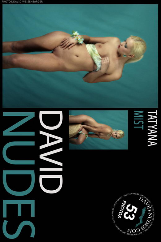 Tatyana - `Mist` - by David Weisenbarger for DAVID-NUDES