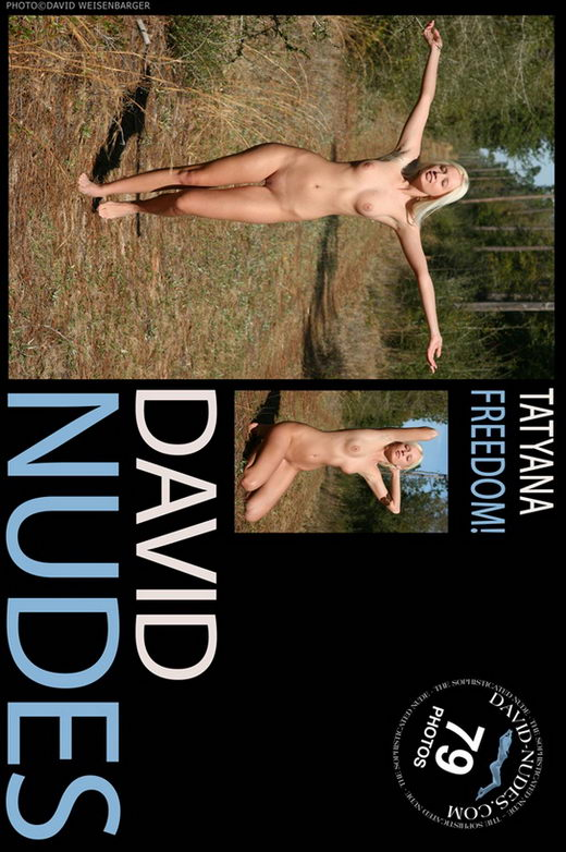 Tatyana - `Freedom!` - by David Weisenbarger for DAVID-NUDES