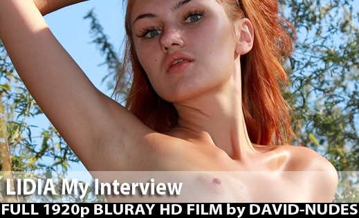 Lidia - `My Interview` - by David Weisenbarger for DAVID-NUDES
