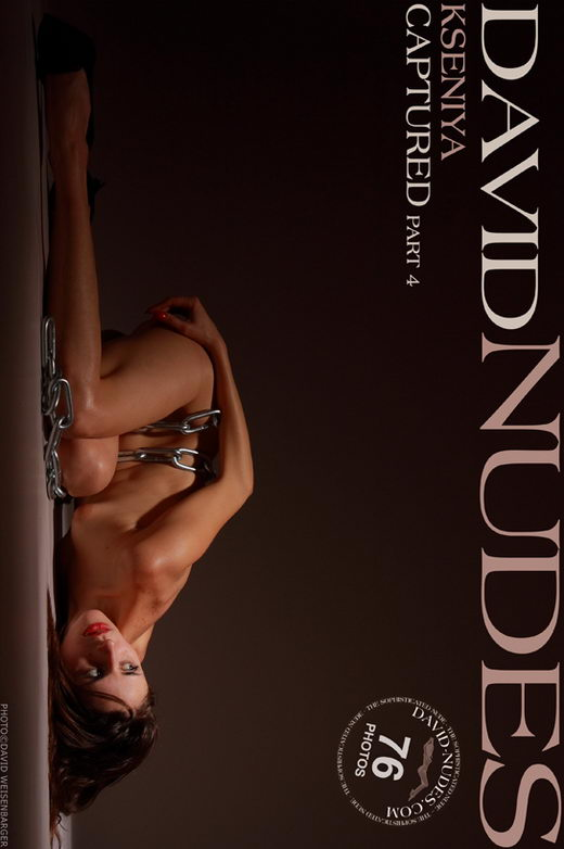 Kseniya - `Captured part 4` - by David Weisenbarger for DAVID-NUDES