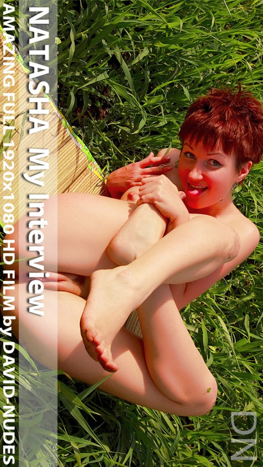 Natasha - `My Interview` - by David Weisenbarger for DAVID-NUDES