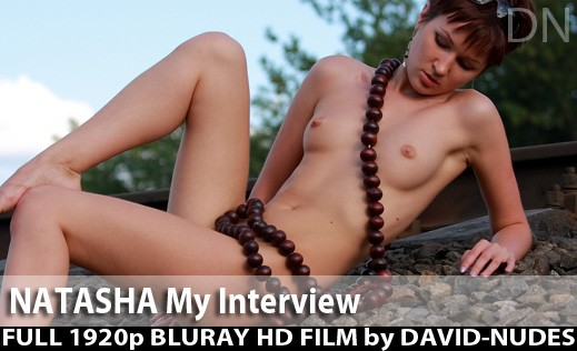 Natasha - `My Interview` - by David Weisenbarger for DAVID-NUDES