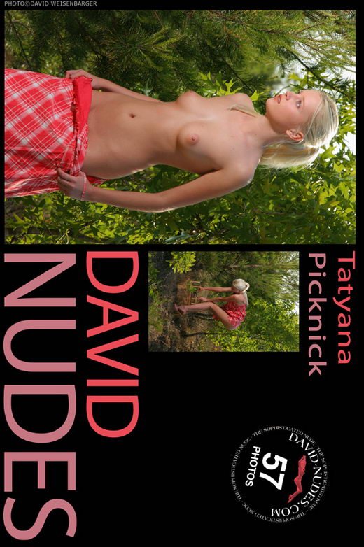 Tatyana - `Picknick` - by David Weisenbarger for DAVID-NUDES