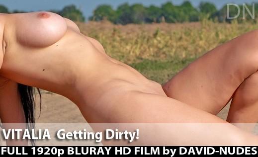 Vitalia - `Getting Dirty!` - by David Weisenbarger for DAVID-NUDES