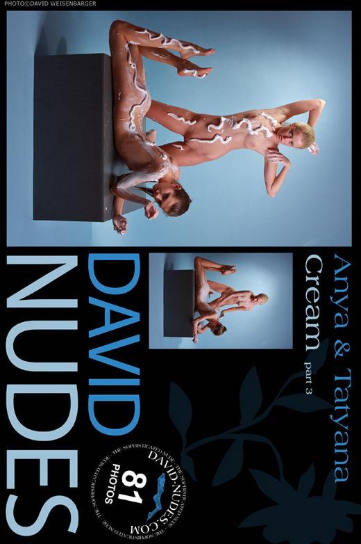 Anya & Tatyana - `Cream part 3` - by David Weisenbarger for DAVID-NUDES