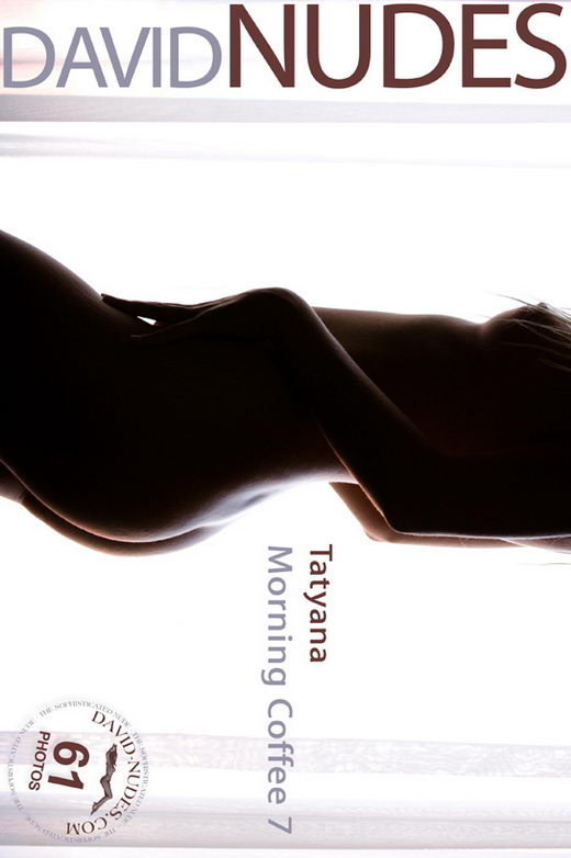 Tatyana - `Morning Coffee 7` - by David Weisenbarger for DAVID-NUDES