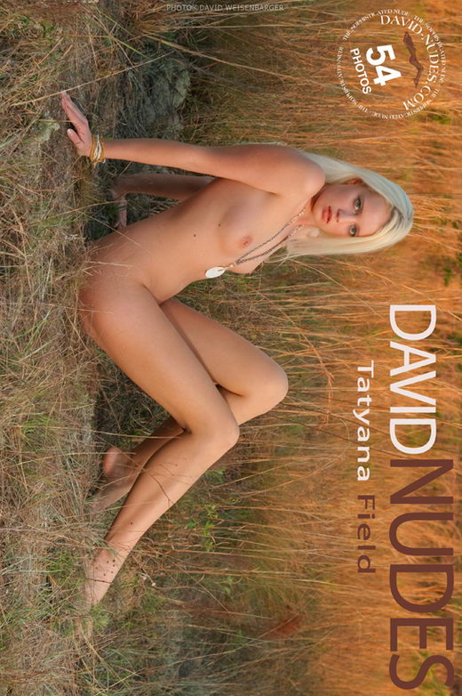 Tatyana - `Field` - by David Weisenbarger for DAVID-NUDES
