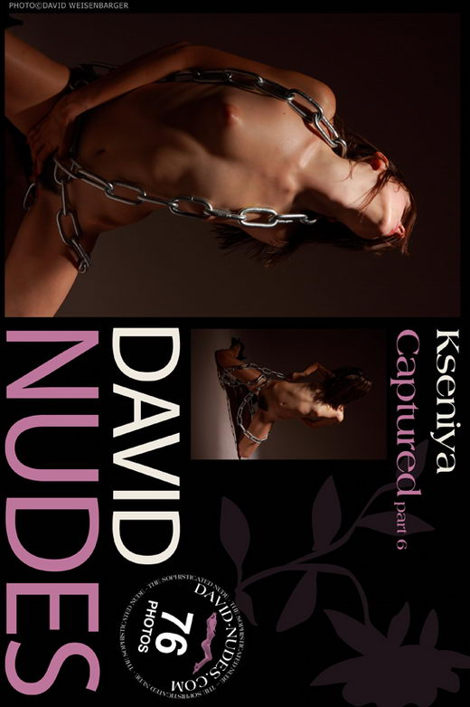 Kseniya - `Captured part 6` - by David Weisenbarger for DAVID-NUDES