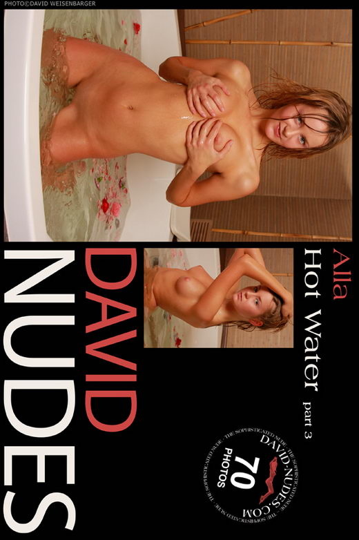 Alla - `Hot Water part 3` - by David Weisenbarger for DAVID-NUDES